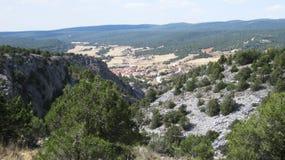 Landschaften und Berge Lizenzfreie Stockfotos