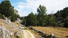 Landschaften und Berge Stockfoto