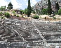 Landschaften von altem Griechenland Lizenzfreie Stockfotos