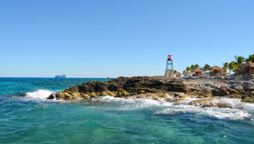 Landschaften von Cocos Cay, Bahamas Landschaften Lizenzfreies Stockfoto