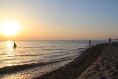 Landschaften von die Türkei-Strand, Sommer Lizenzfreie Stockbilder