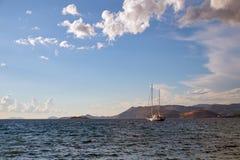 Landschaften von Dubrovnik kroatien lizenzfreie stockfotografie
