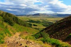 Landschaften von Island Lizenzfreies Stockfoto