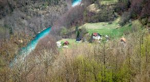 Landschaften von Montenegro lizenzfreie stockbilder