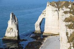 Landschaften von Normandie lizenzfreies stockbild