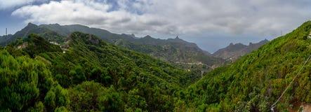 Landschaften von Teneriffa Kanarische Inseln spanien stockbild