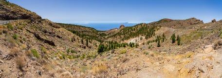 Landschaften von Teneriffa Kanarische Inseln spanien stockfotos