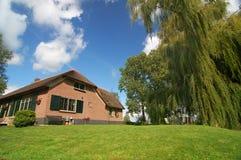 Landschafthaus stockfoto
