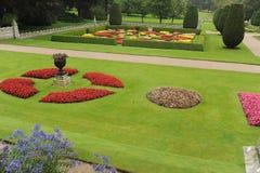 Landschaftlich verschönerter Garten Lizenzfreie Stockfotos