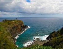 Landschaftliche Schönheit der Insel von Kauai, Hawaii Kilauea-Punkt stockfotos