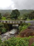 Landschafts-Brücke in Indien lizenzfreies stockbild