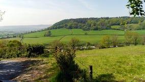 Landschafts-im Frühjahr Landschaft in England Lizenzfreies Stockfoto