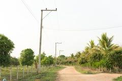 Landschaftsansicht Stockfoto