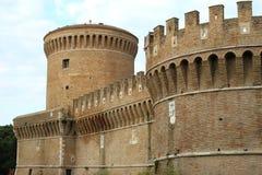 Landschaftsansicht Giulius II des Schlosses Stockfotos