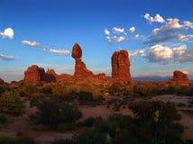 Landschaftsansicht UTAH - USA stockbild