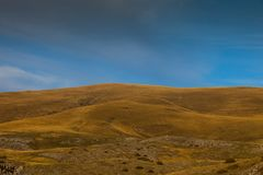 Landschaftsansicht von Bistra-Berg Lizenzfreies Stockfoto