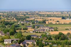 Landschaftsansicht von Bretagne Lizenzfreie Stockfotografie