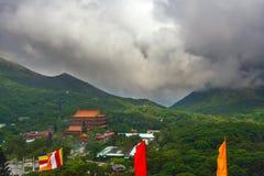 Landschaftsansicht von Buddha Lizenzfreies Stockbild