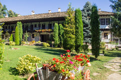 Landschaftsarchitektur das Troyan-Kloster, Bulgarien Lizenzfreies Stockbild