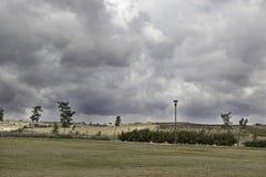 Landschaftsbewölkter Himmel stockfotos