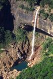 Landschaftsbildwasserfall Stockfoto