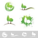 Landschaftsdesign-Satz Lizenzfreies Stockfoto