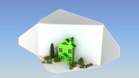 Landschaftsentwurf Lizenzfreies Stockfoto