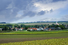 Landschaftsfeld Lizenzfreie Stockfotos