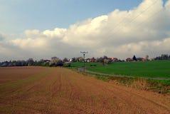 Landschaftsfeld Lizenzfreie Stockfotografie