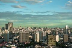 Landschaftsgebäude in Bangkok, Thailand stockfoto