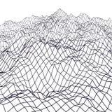 Landschaftsgeometrie niedrig-Poly vektor abbildung