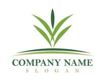 Landschaftsgestaltung des Logoentwurfs lizenzfreie stockfotos