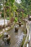 Landschaftsgestaltung im Garten Lizenzfreies Stockfoto