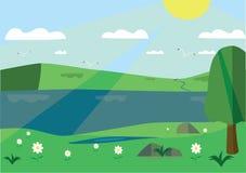 Landschaftshimmel Lizenzfreie Stockbilder
