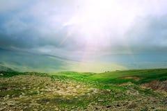 Landschaftshintergrund Lizenzfreie Stockfotografie