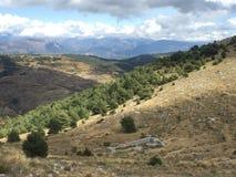 Landschaftskamm von Cheiron Stockbild