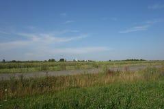 Landschaftslandschaft in Siebenbürgen, Rumänien Stockbilder