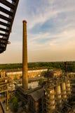 Landschaftspark Duisburg krajobraz fotografia stock