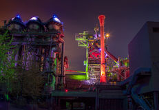 Landschaftspark Duisburg Nord Industrial Culture Germany Stock Photo