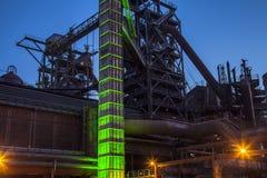 Landschaftspark Duisburg Nord Industrial Culture Germany Stock Image