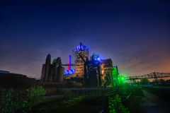Landschaftspark Duisburg-Nord Stock Photography