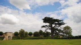 Landschaftspark von Frankreich Offener Himmel Lizenzfreie Stockbilder