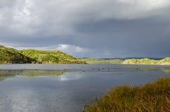Landschaftsphotographie der Menorca-Biosphärenreserve stockfotos