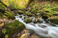 Landschaftsphotographie von yedigoller Wasserfällen lizenzfreie stockbilder