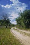 Landschaftsstraße Stockbilder