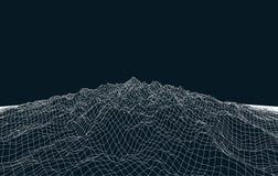 Landschaftsvektorgeometrie vektor abbildung