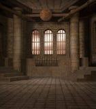 Landschap 10 van de fantasie Royalty-vrije Stock Afbeeldingen