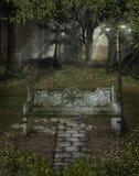 Landschap 112 van de fantasie royalty-vrije illustratie