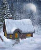 Landschap 13 van de winter vector illustratie