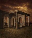 Landschap 14 van de fantasie royalty-vrije illustratie